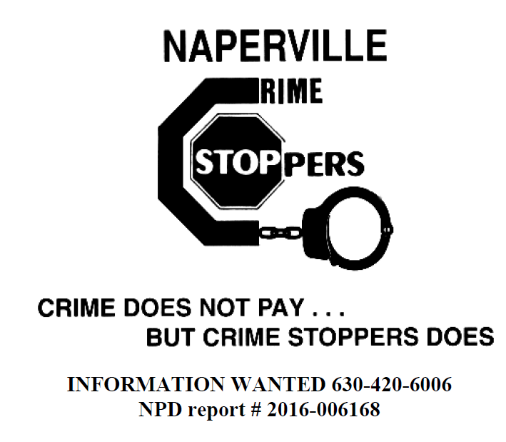 Naperville Crime Stoppers need YOUR Help finding criminals Responsible for a Residential Burglary