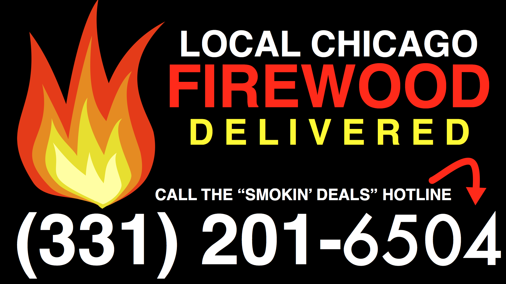 Chicago Firewood  Delivered HOTLINE 331-201-6504