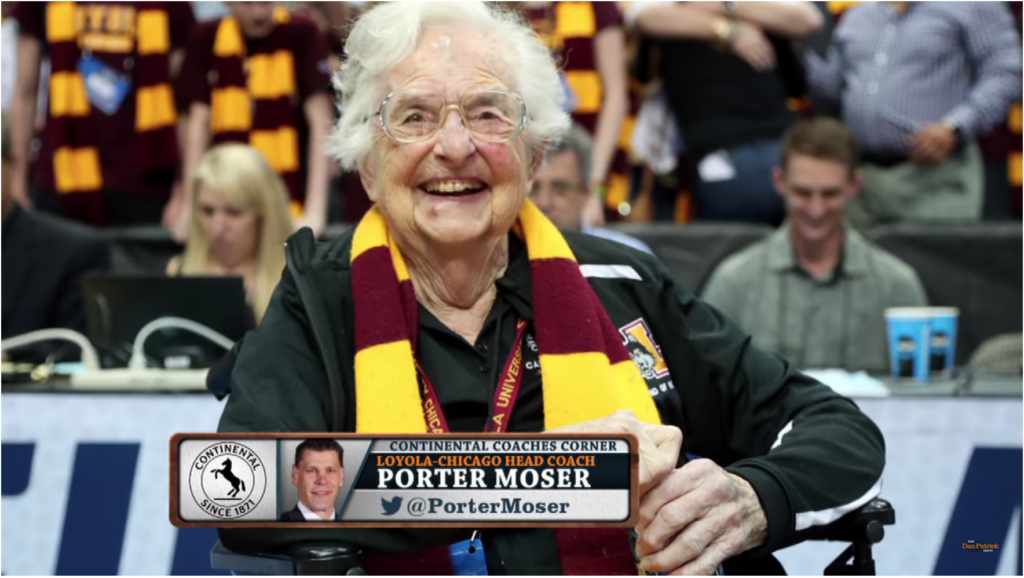 Loyola Porter Mosher talk amrch madness with dan patrick on WCKG AM 1530