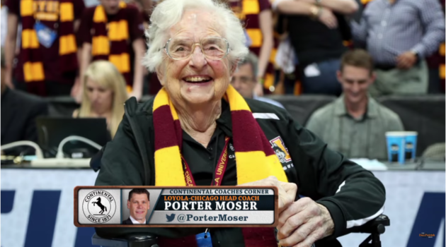 Loyola Head Coach Porter Moser Talks March Madness Basketball with Dan Patrick