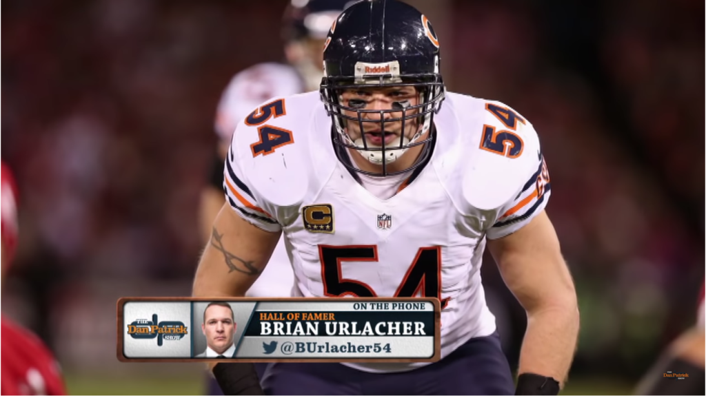 Hall of Fame Chicago Bear Brian Urlacher Dishes on Jay Cutler & Dodgeball