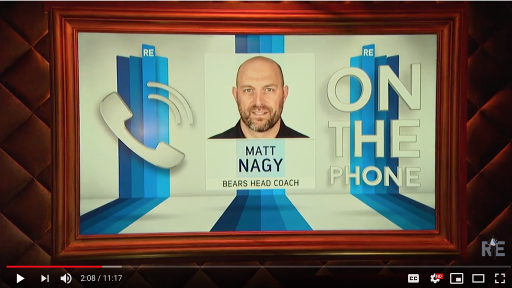 Chicago Bears Coach Matt Nagy Talks Trubisky, Mahomes & More w/Rich Eisen