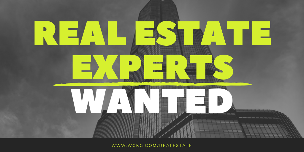 Real-Estate-Experts-Wanted-WCKG-Chicago-Naperville_Schaumburg_Hinsdale_Elmhurst_Downers-Grove