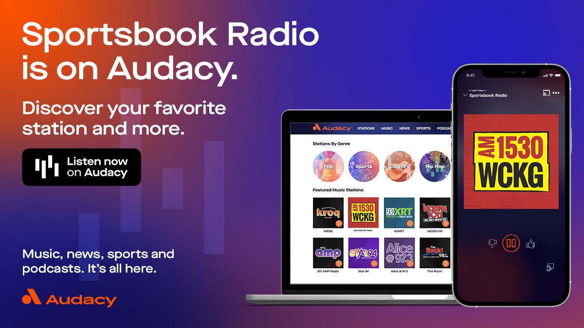 Sportsbook Radio on Audacy.com