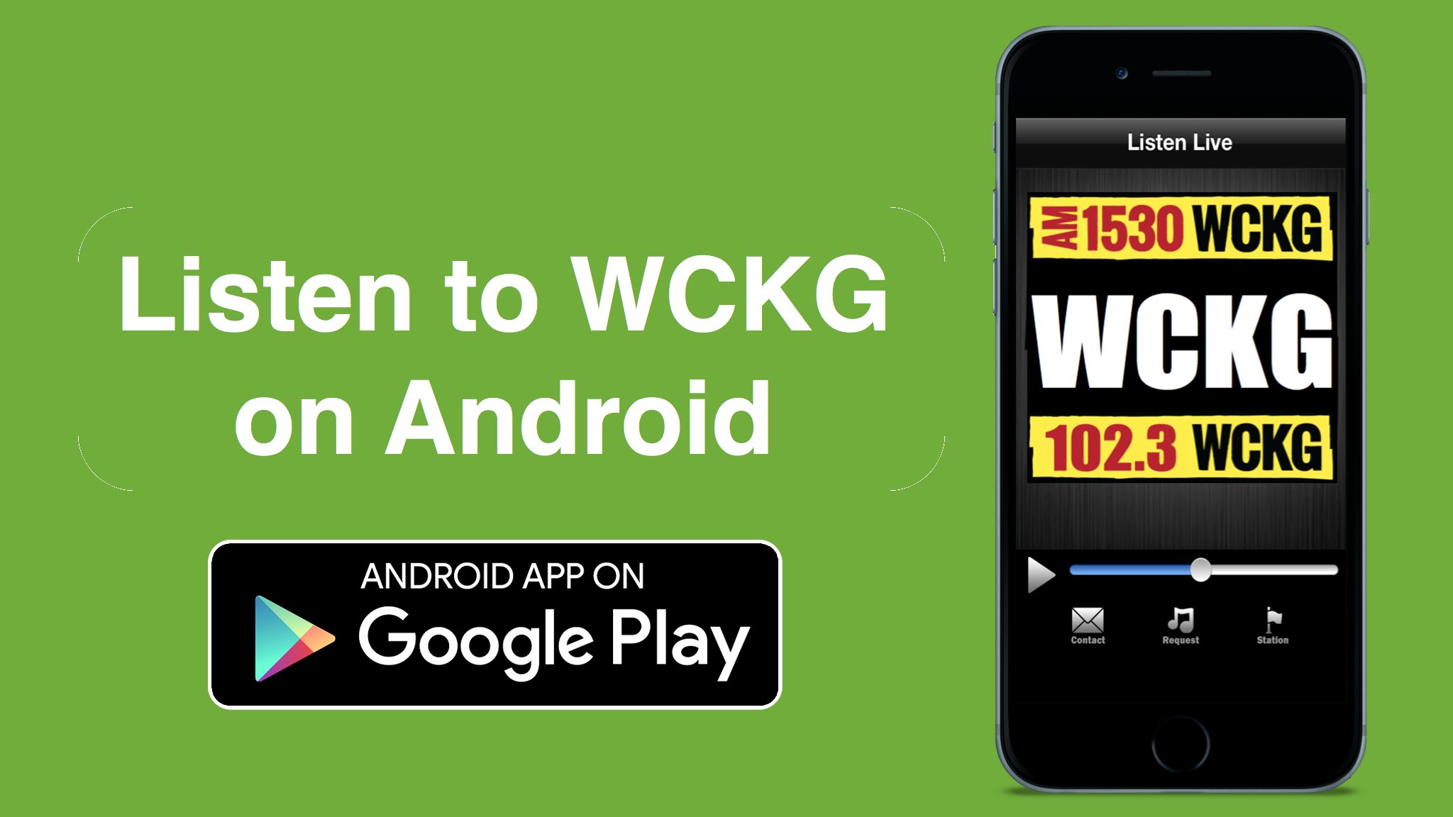Get the WCKG App for Android