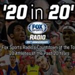 Top 20 in 20